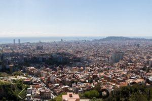 visitar turo del rovira mejores vistas de barcelona