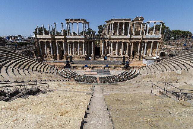 visitar anfiteatro romano merida