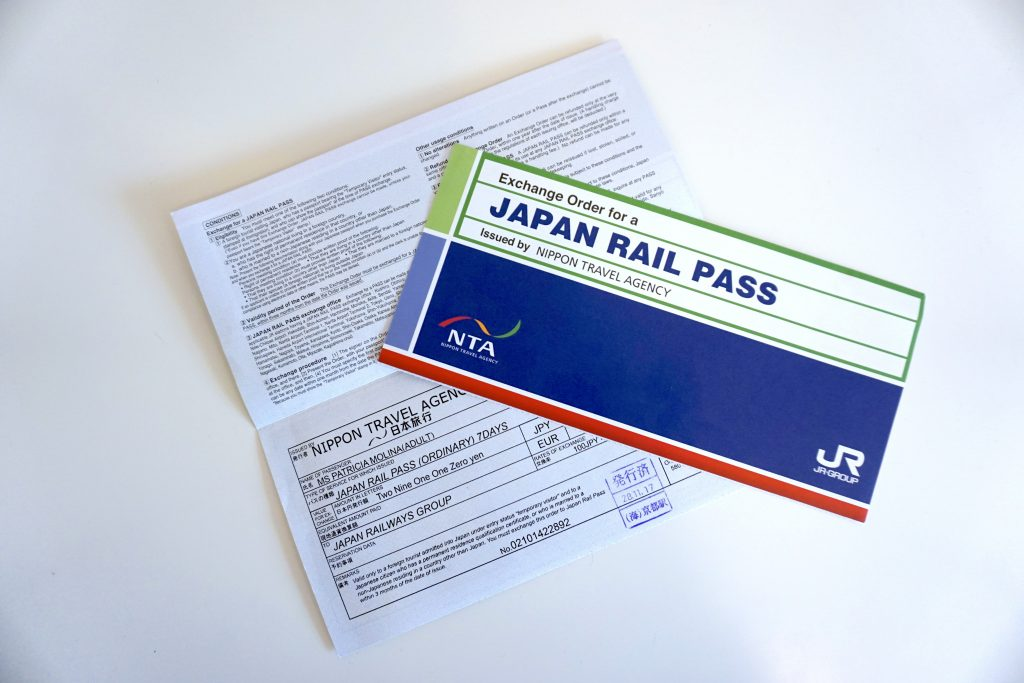 Japan Rail Pass. JR Pass Japón