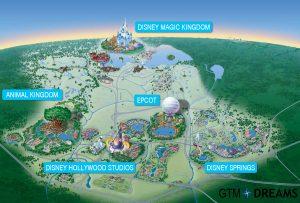 Mapa de DisneyLand World