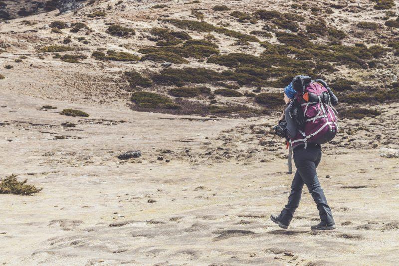 Trekking organizado por libre