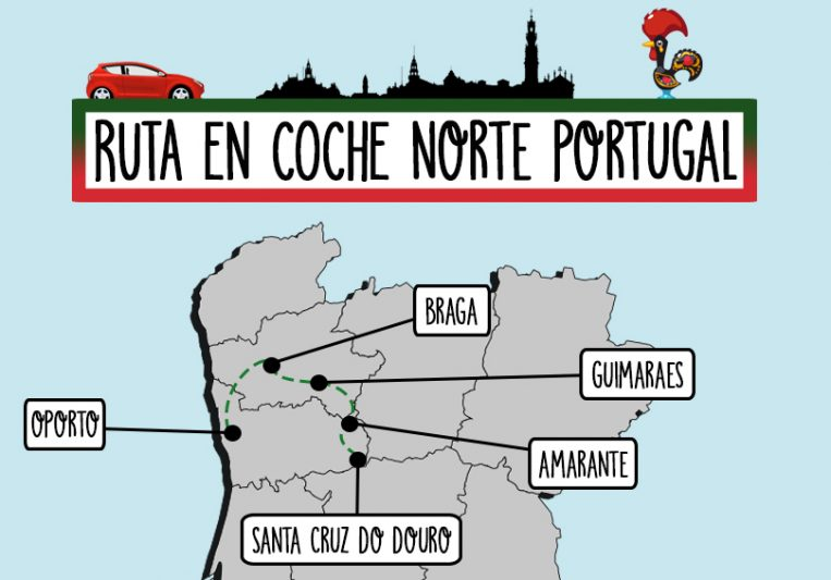 RUTA EN COCHE EN PORTUGAL