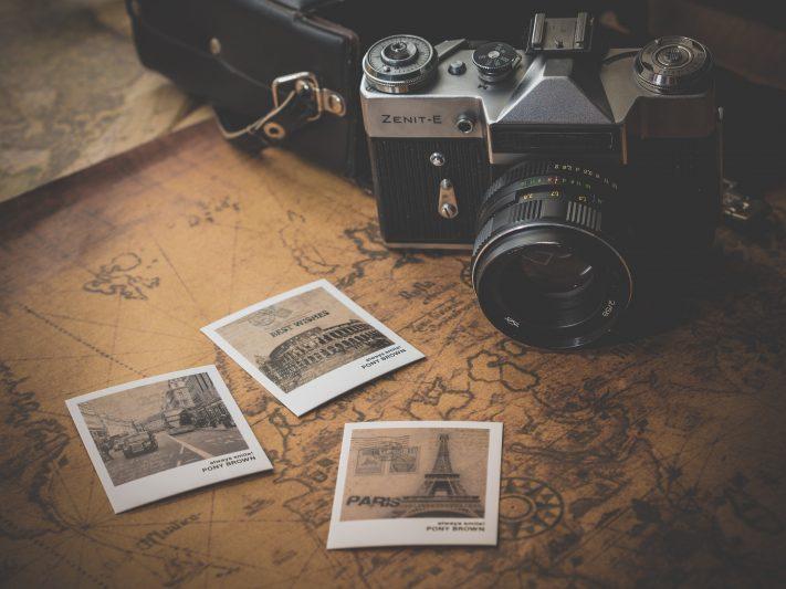 equipo de fotografia de viajes