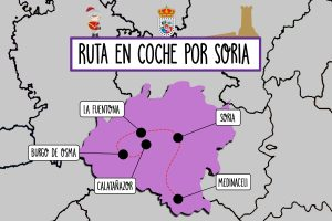 Ruta de fin de semana en coche por Soria
