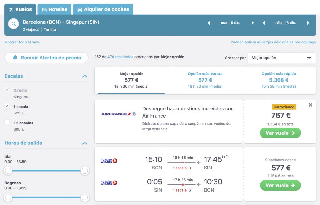 buscadores de vuelos online skyscanner