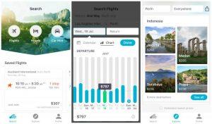 App móvil Skyscanner