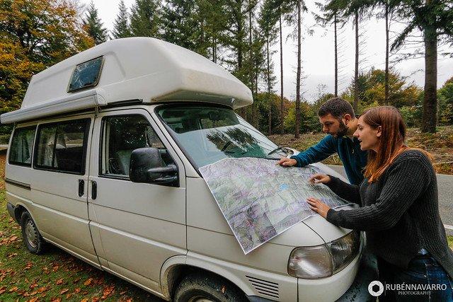 consejos viajar en furgoneta camper