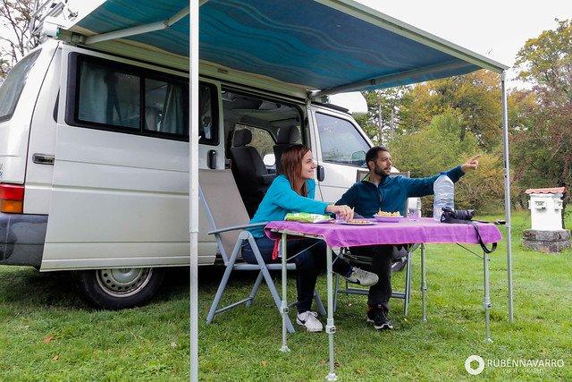 como viajar en furgoneta camper