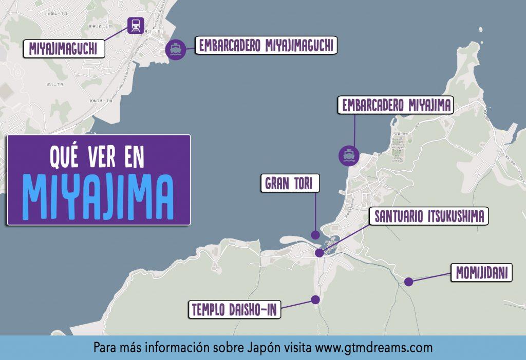 Qué ver en Miyajima