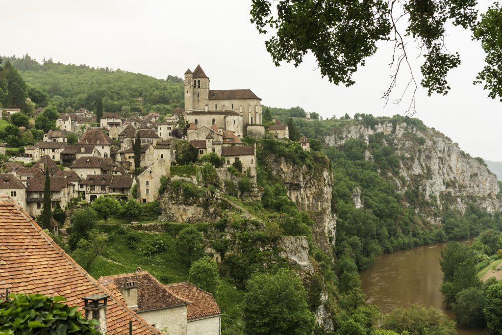 Ruta por Midi-Pyrénées en coche Saint Cirque Lapopie