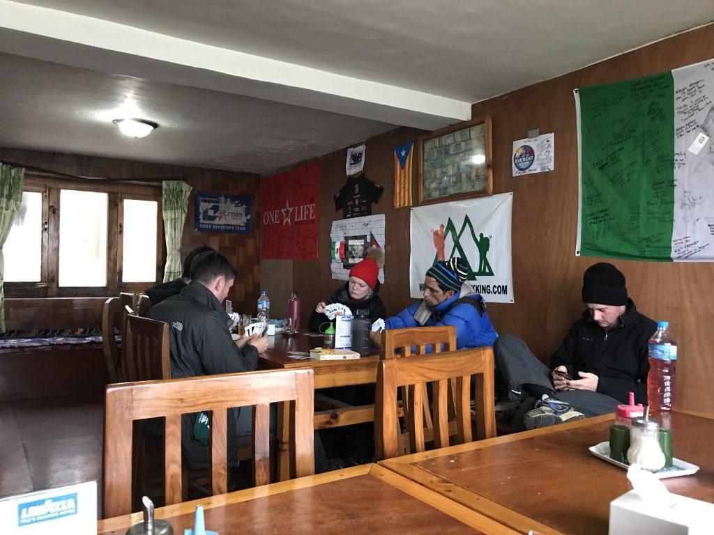 Sala común de un lodge