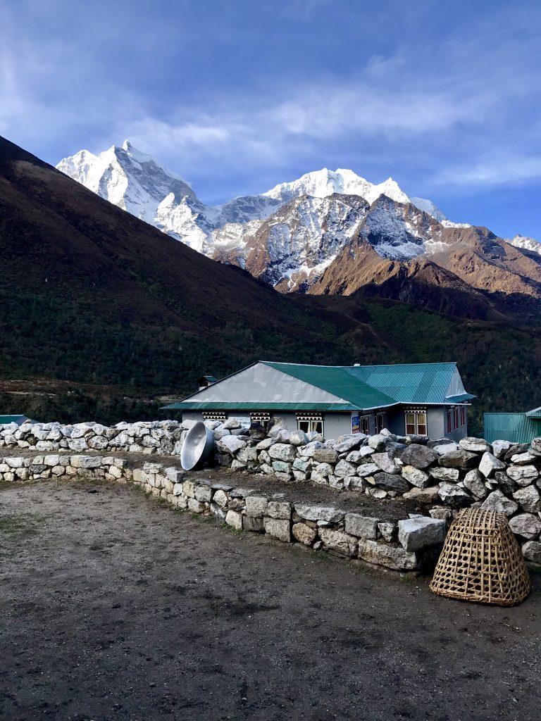 Alojamiento en Pangboche trekking campo base Everest