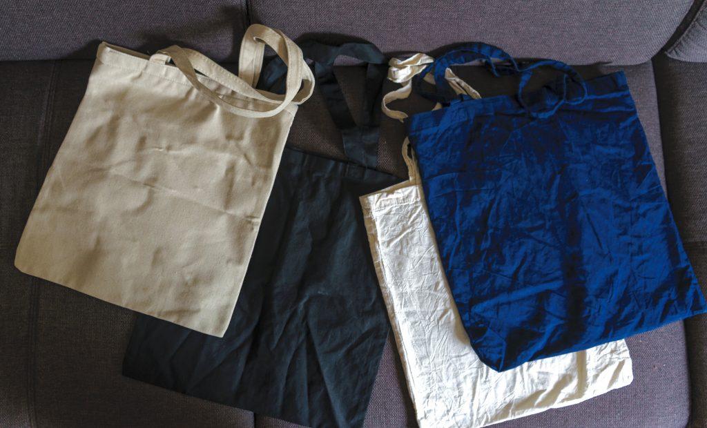 bolsas de tela tote bag