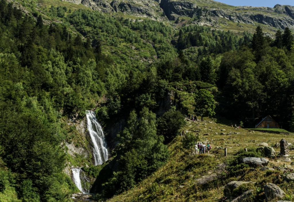 cascada sauth des pish valle de aran