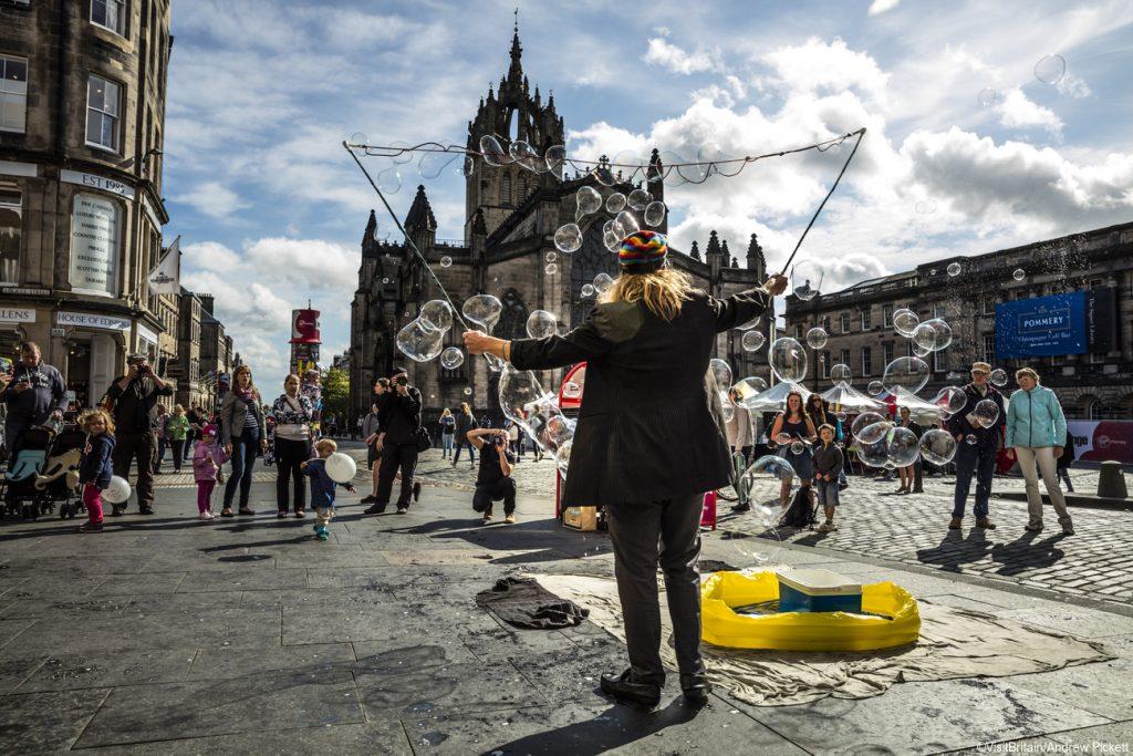 Edinburgh Fringe Festival viajar a Escocia