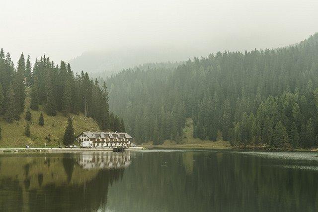 Lago Misurina dolomitas
