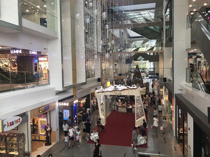 Centros comerciales en singapur