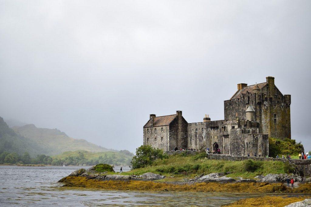 Castillo eilean donan castle