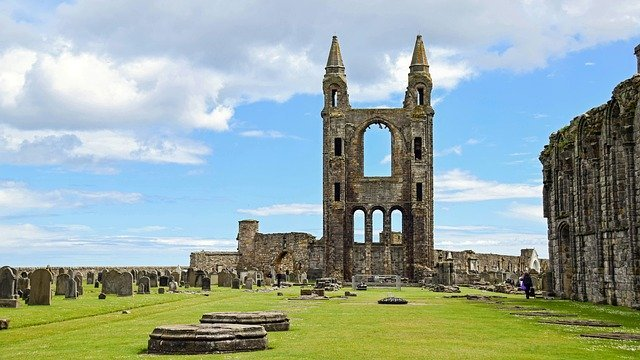 st andrews cathedral scotland itinerary