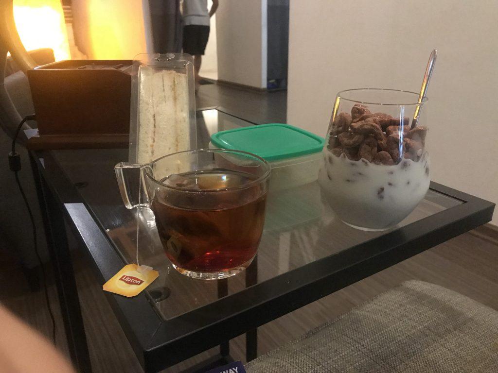 Desayuno en Five Stones Hostel Singapur