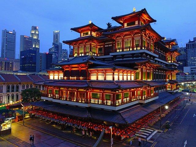 chinatown en singapur