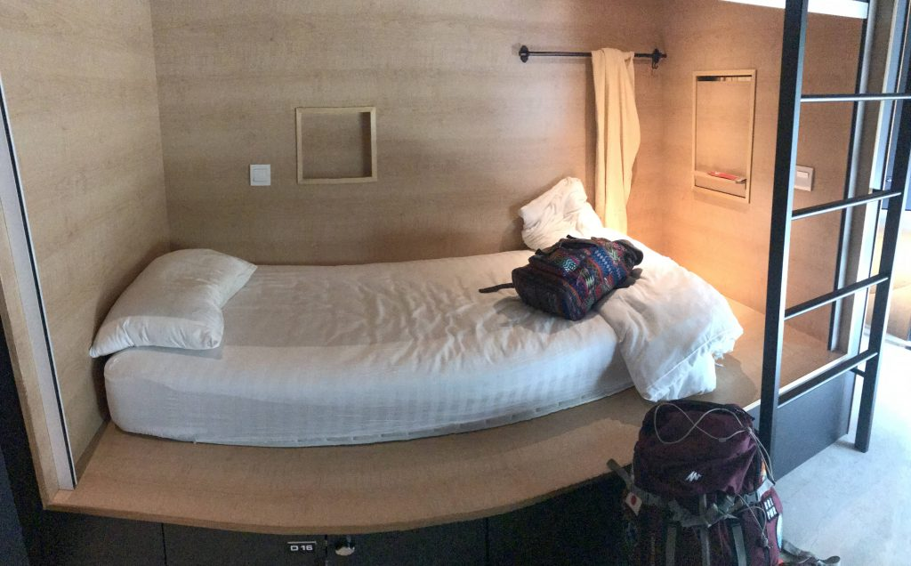 Mi cama en el The Bed KLCC