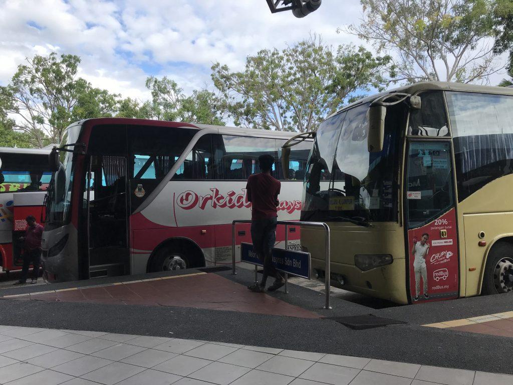 estación de autobuses de Melaka