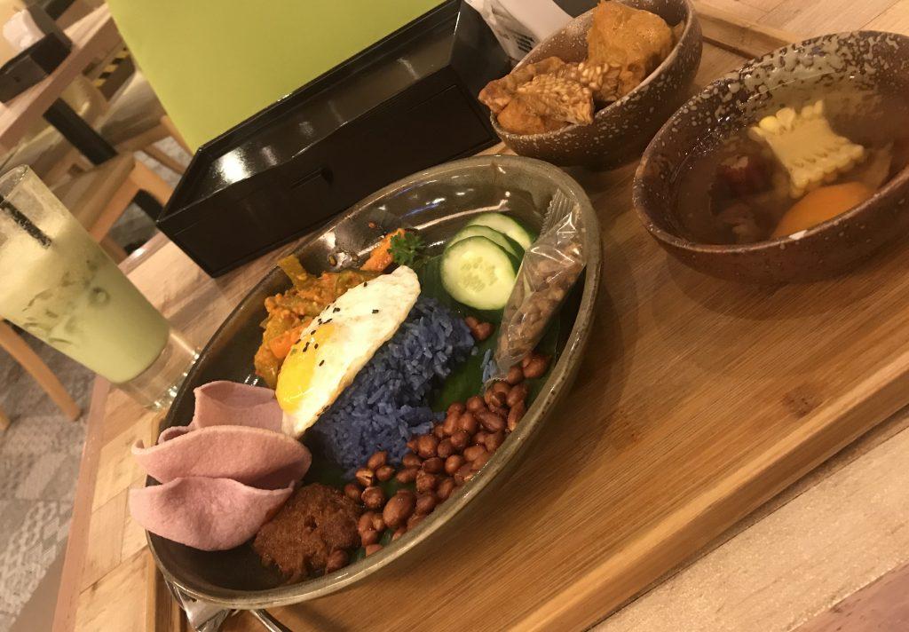 comer en Malasia