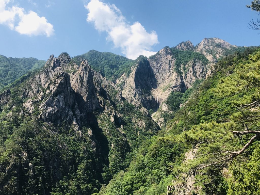mirador parque nacional seoraksan