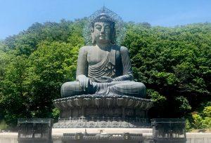 estatua buda en seoraksan
