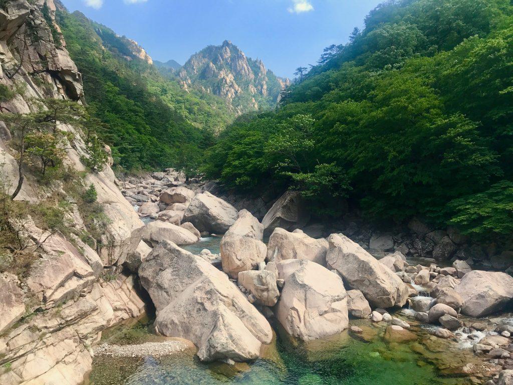 rocas biseondae en seoraksan